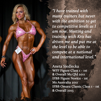 Aneta Siedlecka - IFBB Figure Omara Classic Overall 2013