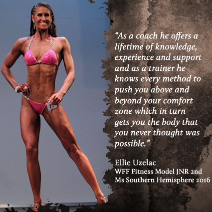 Ellie Uzelac - WFF Fitness Model