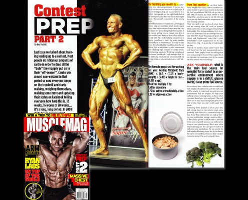 Team Viking - Comp Prep Musclemag Pt 2